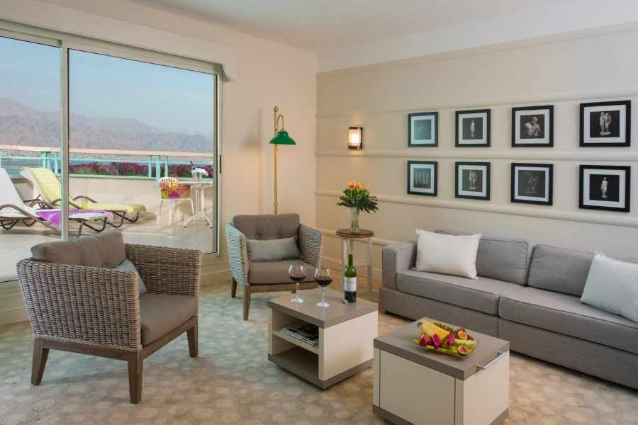 חדר עם מרפסת מלון הרודס ויטאליס