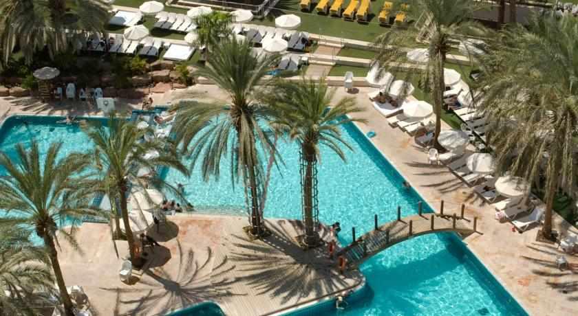 בריכת שחייה מלון המלך שלמה