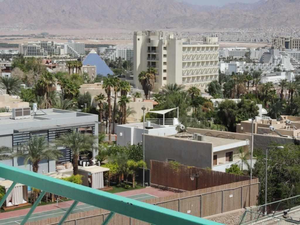 נוף לעיר ממלון דירות לב