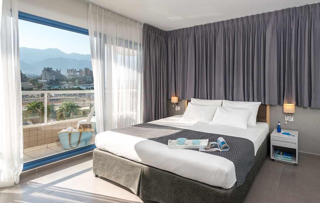 חדר זוגי לאורחי מלון אסטרל נירוונה קלאב באילת