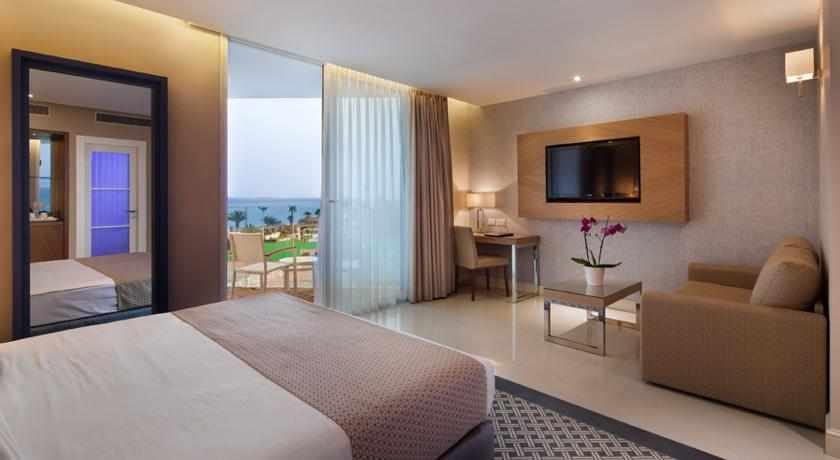 חדר דלקס מלון אורכידאה הריף
