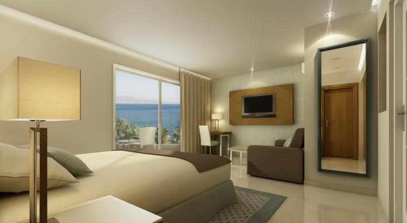 חדר נוף לים מלון אורכידאה הריף