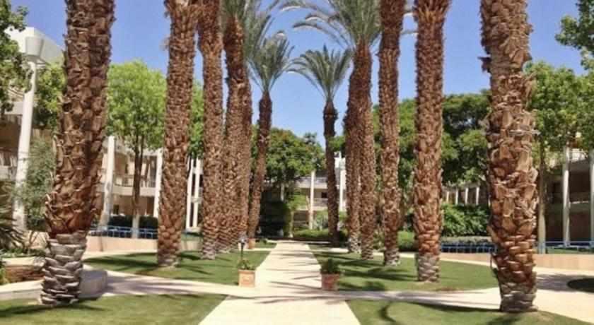 מדשאות ושטחים במלון רויאל פארק